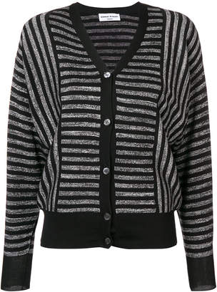 Sonia Rykiel striped V-neck cardigan