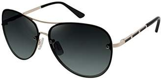 Elie Tahari Women's Th651 Gldox Aviator Sunglasses