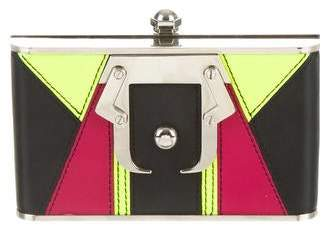 Paula Cademartori Colorblock Box Clutch