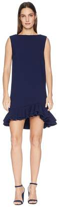 Nicole Miller Dress with Frill Hem Women's Dress