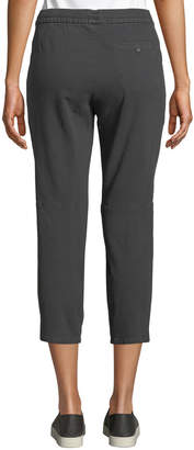 James Perse Cropped Ankle-Split Pant