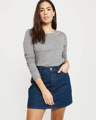 Abercrombie & Fitch Legging-Friendly Long-Sleeve Tee