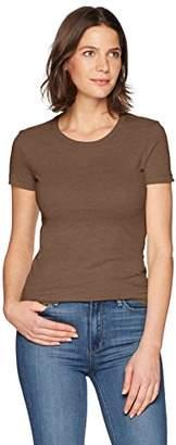 Fashionable Clementine Apparel Women's Ladies Favorite Fionable Crew Neck T-Shirt