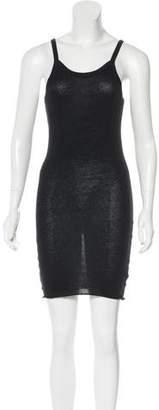Bassike Sleeveless Mini Dress
