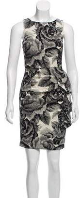 Alice + Olivia Printed Sleeveless Mini Dress