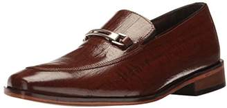 Stacy Adams Men's Santiago-Moc Toe Bit Slip Loafer