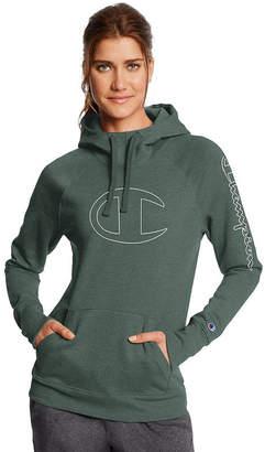 Champion Fleece Long Sleeve Hoodie - Womens