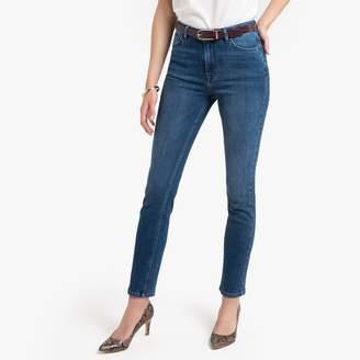 "Anne Weyburn Straight Stud Detail Jeans, Length 27.5"""