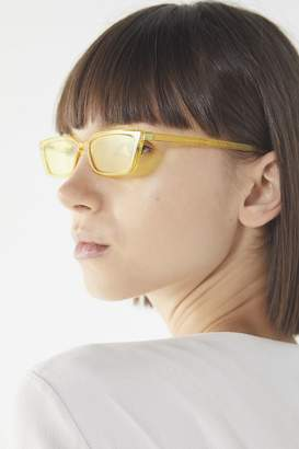 Urban Outfitters Gigi Slim Rectangle Sunglasses