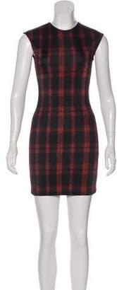 Torn By Ronny Kobo Cap Sleeve Mini Dress