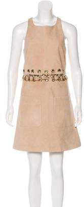 Chloé Suede Embellished Dress w/ Tags
