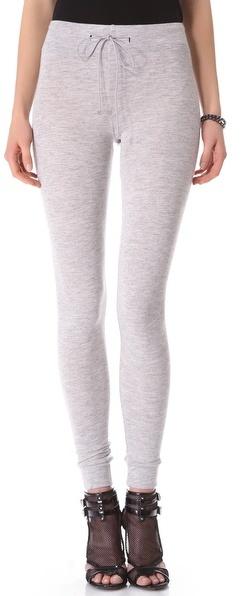 David Lerner Skinny Sweatpants