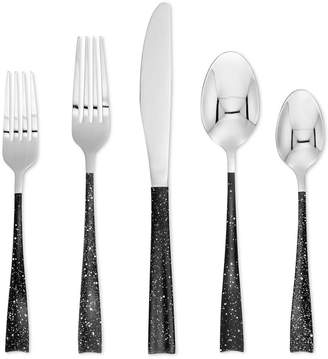 Cambridge Silversmiths Arden Speckled 20-Pc. Flatware Set, Service for 4