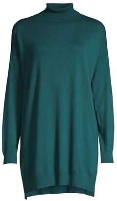 Eileen Fisher Cozy Stretch Turtleneck Tunic