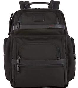 Tumi Men's Alpha II T-Pass Business Backpack-Black