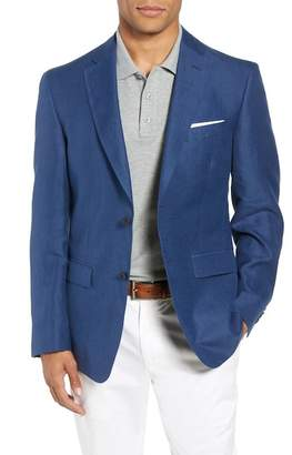John W. Nordstrom R) Traditional Fit Linen & Silk Blazer