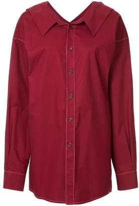 Marni oversized longline shirt