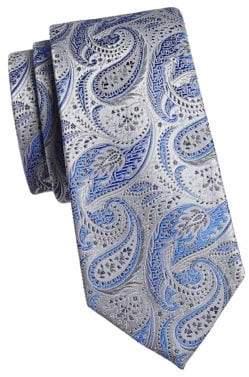 Geoffrey Beene Affectional Paisley Slim Tie