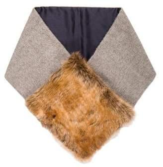 Rachel Comey Faux Fur-Trimmed Scarf