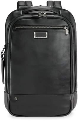 Briggs & Riley Work Medium Leather Backpack