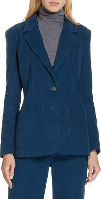 Rebecca Taylor Stretch Cotton Corduroy Jacket