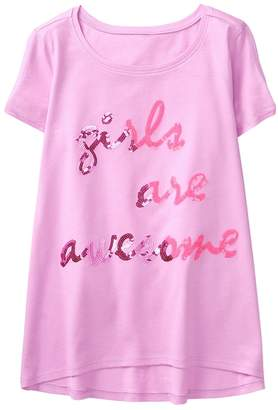Crazy 8 Sparkle Girls Are Awesome Tee