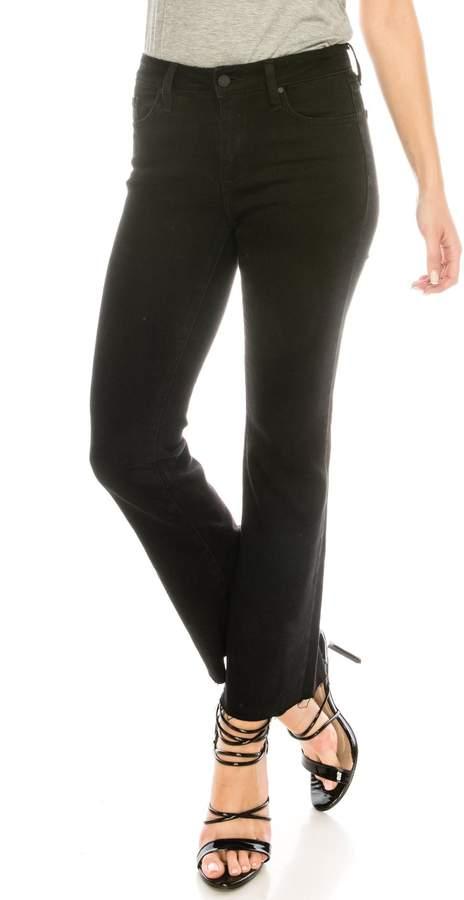 just black Black Cropped Jeans
