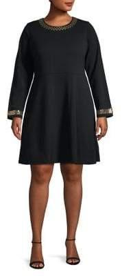 MICHAEL Michael Kors Fit-&-Flare Dress