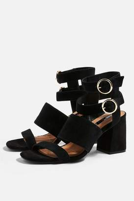 Topshop NEVADA Multi Strap Sandals