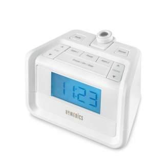 Homedics SoundSpa Digital FM Clock Radio with Time Projection, SS-4520