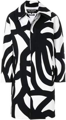 Junya Watanabe printed coat