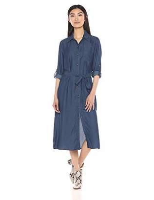 Karen Kane Women's Chambray Shirtdress