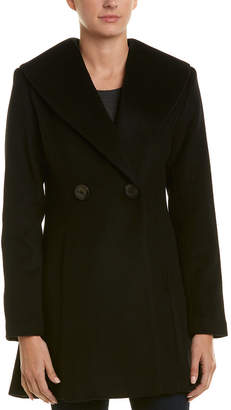 T Tahari Colette Wool-Blend Coat