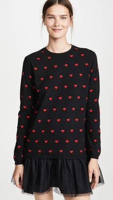 RED Valentino Knitted Heart Dress