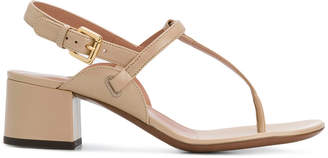 L'Autre Chose sling-back open-toe sandals