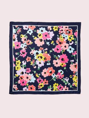 Kate Spade wild bouquet silk scarf