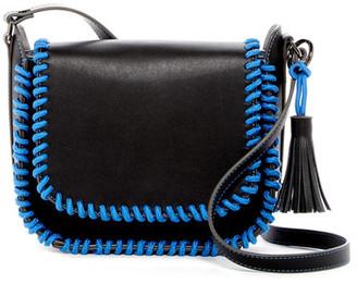 Steve Madden Hart Whip Stitch Saddle Bag $78 thestylecure.com