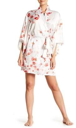 Natori Blossom Print Wrap