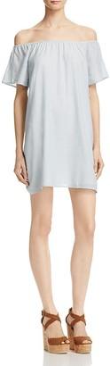 Soft Joie Anatalie Off-the-Shoulder Dress - 100% Exclusive $198 thestylecure.com