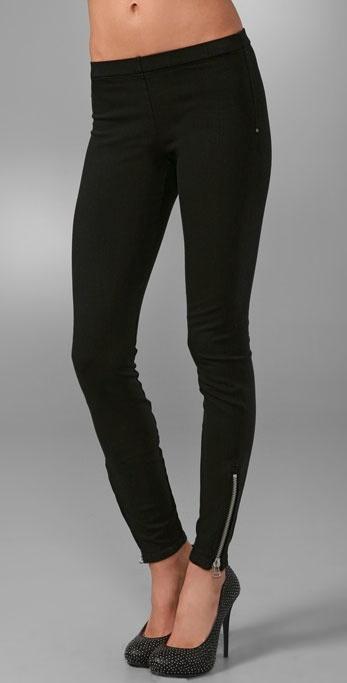 Joe's Jeans Zip Ankle Denim Leggings