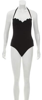 Marysia Swim Textured One-Piece Swimsuit w/ Tags