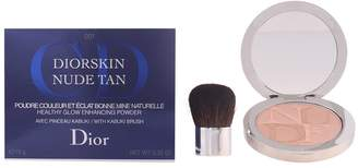 Christian Dior Christian Diorskin Tan Healthy Glow Enhancing Powder with Kabuki Brush # 001 Aurora, 0.35 Ounce