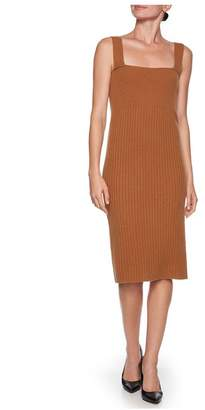 Magaschoni Fitted Midi Dress