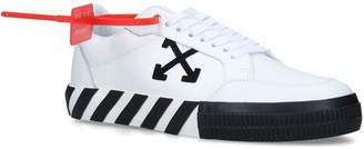 Off-White Off White Leather Arrows Sneakers