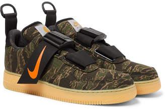 Nike Carhartt Wip Air Force 1 Camouflage-Print Ripstop Sneakers