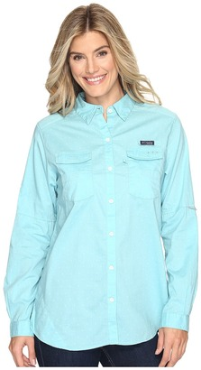Columbia - Super Bonehead II L/S Shirt Women's Long Sleeve Button Up $55 thestylecure.com