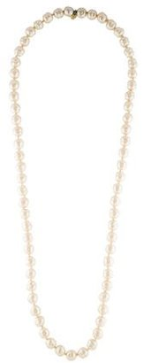 Chanel Faux Pearl Bead Necklace