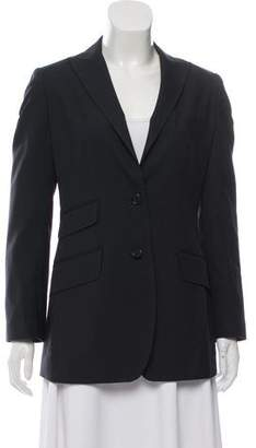 Dolce & Gabbana Peak-Lapel Long-Line Blazer