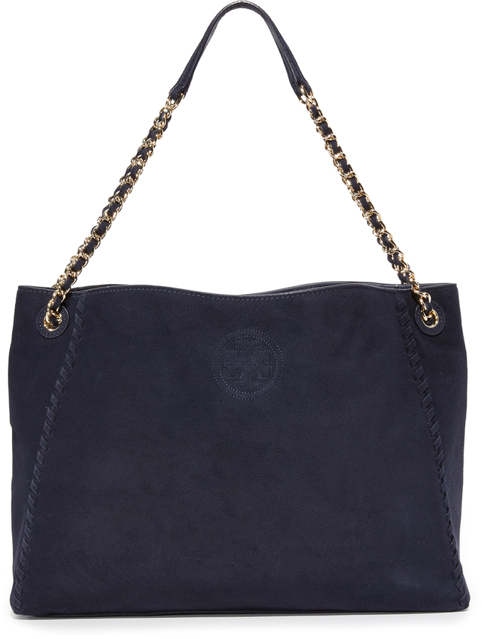 Tory BurchTory Burch Marion Suede Chain Shoulder Tote