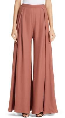 Jacquemus Le Pantalon Noia Wide Leg Pants